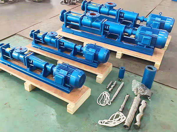 Sewage screw pump
