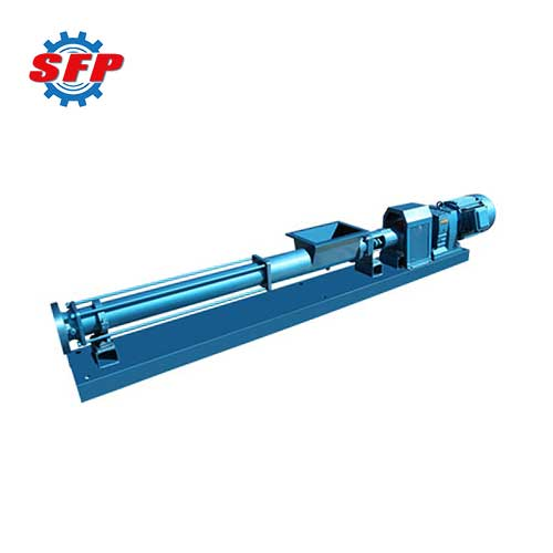screw pump with hopper
