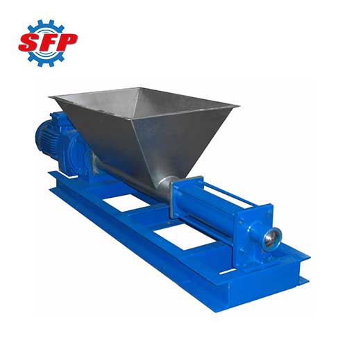 mono screw hopper pump