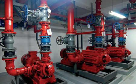 High Pressure Pump For Fire Fighting System
